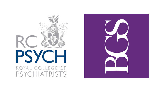 RCPsych and BGS Logos
