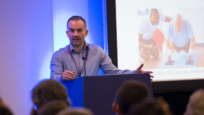 Presenting a session at a BGS event