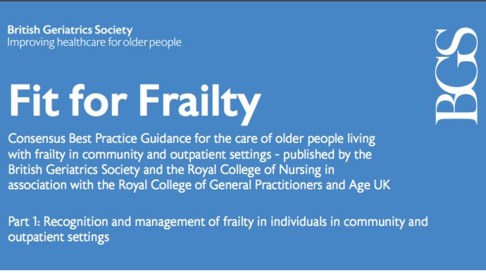 Fit For Frailty