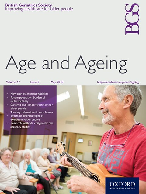 Age and Ageing Journal cover